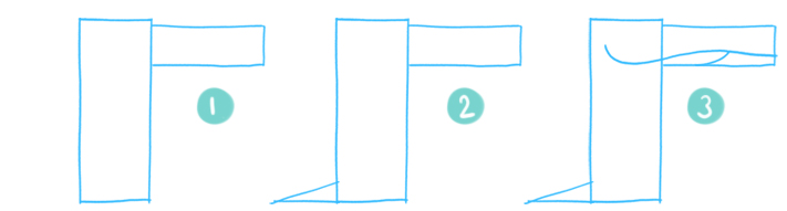 How To Draw A Cartoon Crocodile Step 01 - 03