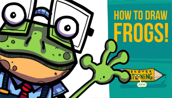How To Draw Cartoon Frogs Thumb