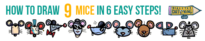 How-To-Draw-A-Mouse-09 Mice